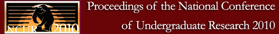 Proceedings of the National Conference of Undergraduate Research 2010